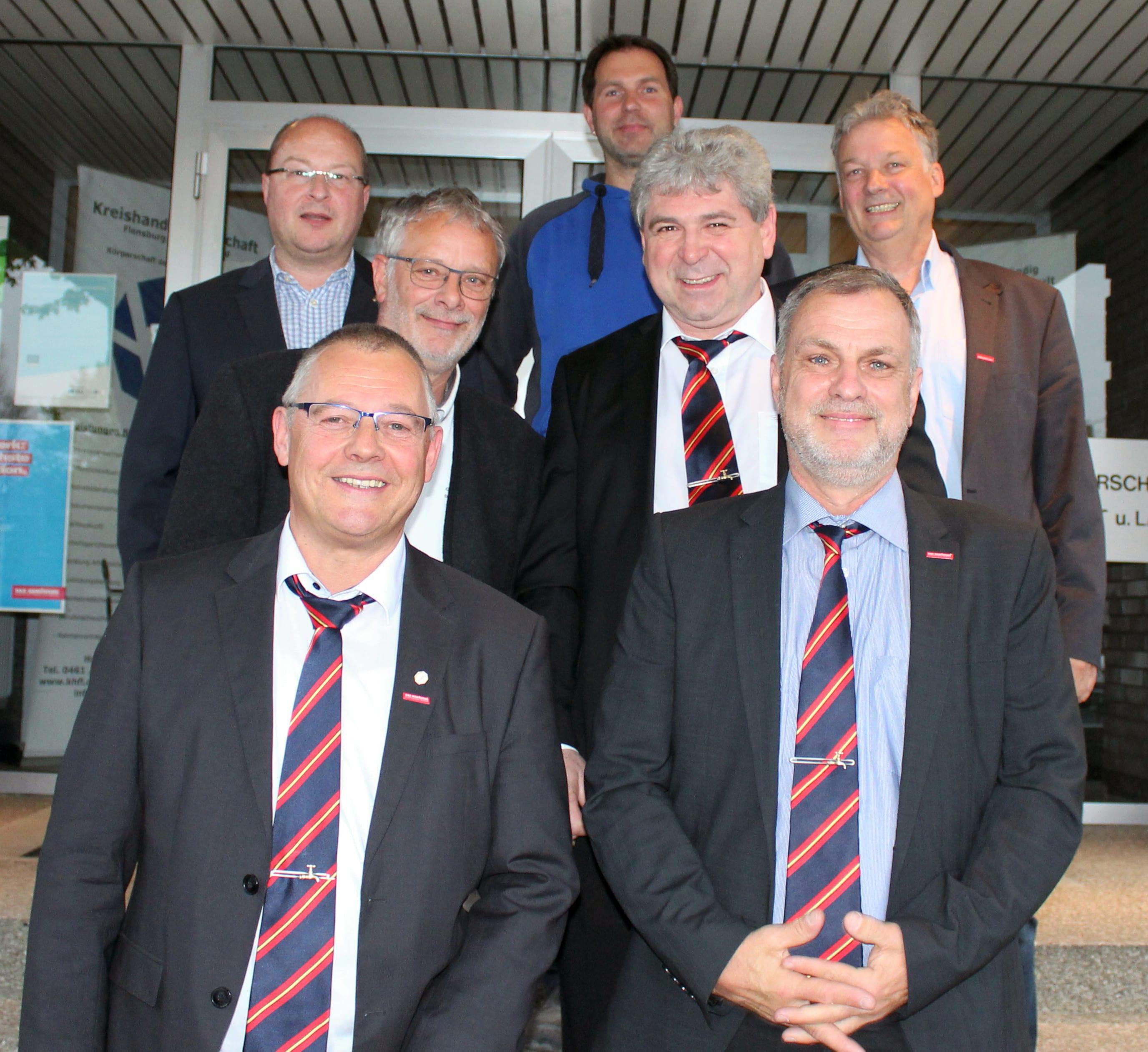 Kreishandwerkerschaft Flensburg BU Neuer Innungsvorstand SHK